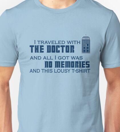 Lousy Doctor Who t-shirt Unisex T-Shirt
