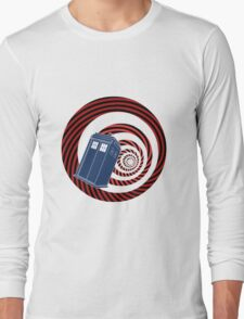 TARDIS Mod Vortex Long Sleeve T-Shirt