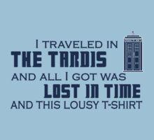 Lousy TARDIS t-shirt by Lillyeven