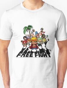 one piece free fight  T-Shirt