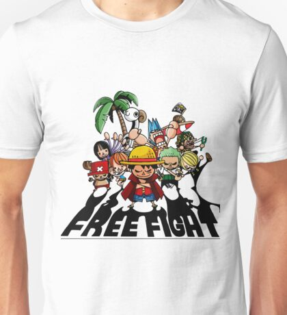 one piece free fight  Unisex T-Shirt