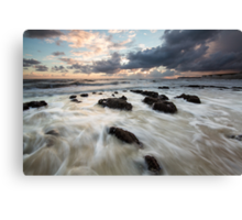 Sunset @ Birling Gap Canvas Print
