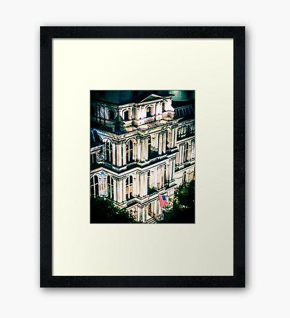 Boston Old City Hall Framed Print