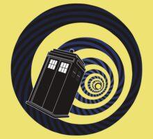 TARDIS Mod Vortex Kids Tee