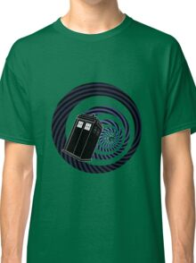 TARDIS Mod Vortex Classic T-Shirt