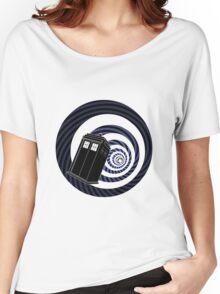 TARDIS Mod Vortex Women's Relaxed Fit T-Shirt