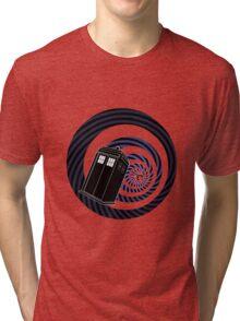 TARDIS Mod Vortex Tri-blend T-Shirt