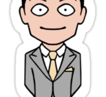Jim Moriarty sticker Sticker