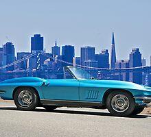 1967 Corvette Stingray Convertible by DaveKoontz