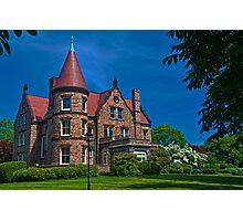 USA. Rhode Island. Newport. Mansion. Photographic Print