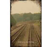Railroad Track 2 Photographic Print