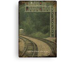 Railroad Track 3 Canvas Print