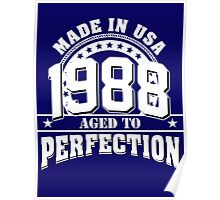 1988 aged to perfection Poster