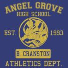 Angel Grove H.S. (Blue Ranger Edition) by johnbjwilson