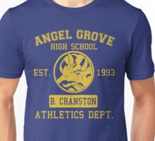 Angel Grove H.S. (Blue Ranger Edition) Unisex T-Shirt