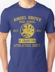 Angel Grove H.S. (Blue Ranger Edition) T-Shirt