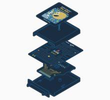 Blueprint Waka-Waka (Sticker) by mannypdesign