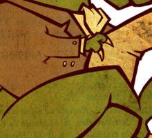 Gentleman T-Rex Sticker