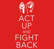 Act Up and Fight Back T-Shirt