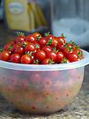 Cherry Tomatoes by Susan S. Kline