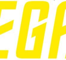 Vegan (TOS Font) Sticker