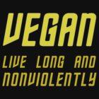 Vegan (TOS Font w/ Subheading) by trekvix
