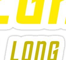 Vegan (TOS Font w/ Subheading) Sticker