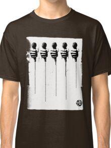 Five Mics - Black/White Classic T-Shirt
