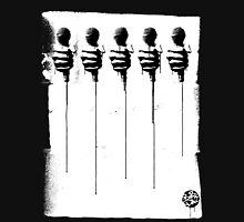 Five Mics - Black/White Unisex T-Shirt