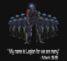 Legion Mass Effect quote by icemanire