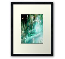 Heart of the Crystal Forest Framed Print