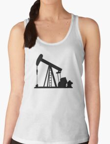 Oil Crane Pump Jack Women's Tank Top