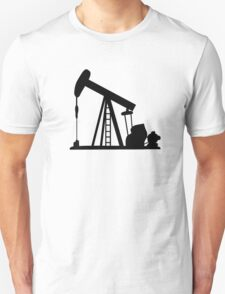 Oil Crane Pump Jack T-Shirt