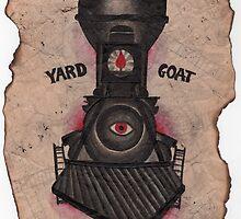 yard goat. by resonanteye
