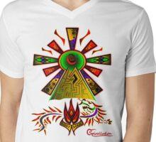 Lost Soul Design Mens V-Neck T-Shirt