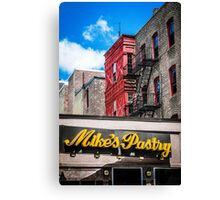 Mike's Pastry Canvas Print