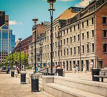 Boston Waterfront Walk by Elizabeth Thomas