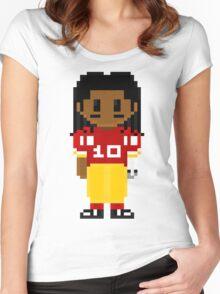 Robert Griffin III Full Body 8-Bit 3nigma Women's Fitted Scoop T-Shirt