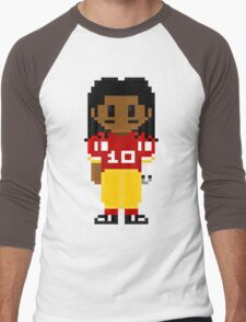 Robert Griffin III Full Body 8-Bit 3nigma Men's Baseball ¾ T-Shirt
