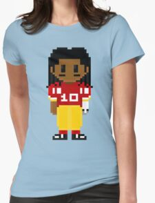 Robert Griffin III Full Body 8-Bit 3nigma Womens Fitted T-Shirt