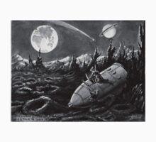 Moon Ship  by david michael  schmidt