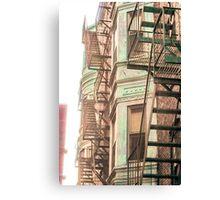 Boston North End, Massachusetts Canvas Print