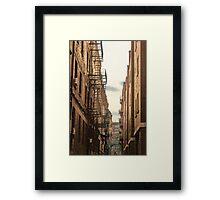 Boston North End, Massachusetts Framed Print
