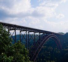 New River Gorge Bridge, West Virginia by tonyaleigh