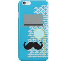 A Dapper Day - Telegraph - Teal iPhone Case/Skin