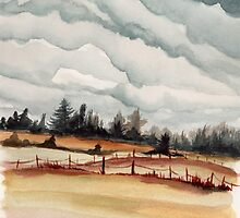 western oregon landscape by resonanteye