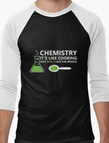 Funny Chemistry Sayings Men's Baseball ¾ T-Shirt