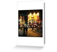 Temple Bar, Dublin Greeting Card