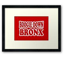 Boogie Down Bronx Framed Print