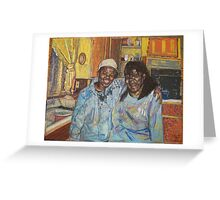 The Janitor And His Mother Greeting Card